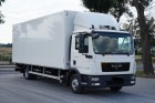 ciężarówka izoterma MAN używana