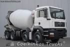 camião betão pião / Betoneira MAN usado