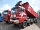 camion MAN TGA 49 440, Blattgefederd, 24 m3 tipper, manual,