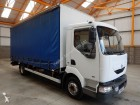 used Renault tautliner truck