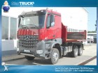 used Mercedes three-way side tipper truck