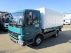 used Mercedes dropside flatbed tarp truck