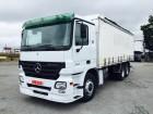 used Mercedes sliding tarp system truck