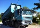 camion benă transport piatra DAF second-hand