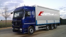 camion système bâchage coulissant Mercedes occasion