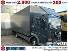 camion furgone Mercedes incidentato