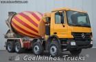 used Mercedes concrete truck