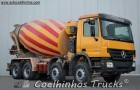 camion betoniera cu rotor/ Malaxor Mercedes second-hand