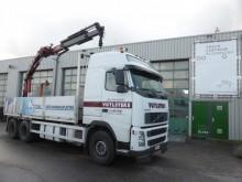 camión Volvo FH 420 6 x 4, HMF 22 ton meter, manual, Globetro