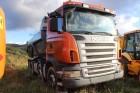 camião basculante para rochas Scania usado