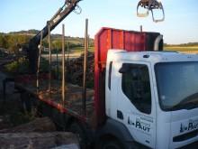 camion transport buşteni Renault second-hand