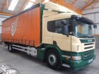used Scania tautliner truck