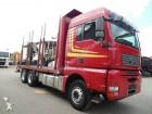 camion transport buşteni MAN second-hand