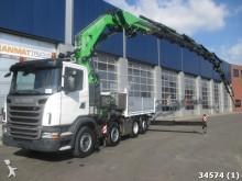 camión Scania G 400 8x2 Euro 5 FASSI 110 TON/METER Kran