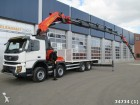 camión Volvo FMX 420 8x4 Euro 5 Palfinger 100 ton/meter crane