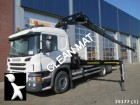 Scania P 410 6x2 NEW Euro 6 with Hiab 37 ton/meter kraa truck