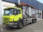 Scania P 114.380 8x2 with alfinger Esilon 14 ton/mete truck