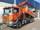 Scania P 114.340 6x4 Euro 2 Manual with alfinger 19 to truck
