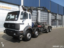 camión Mercedes SK 3244 8x4 V8 Retarder Euro 2 with Loglift 13 t