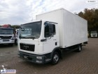 MAN TGL 8.180 4x2 closed box + taillift truck