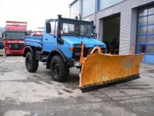 used Unimog three-way side tipper truck
