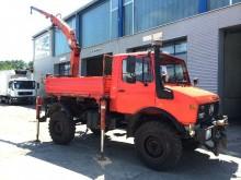 used Unimog tipper truck