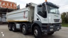 camion ribaltabile Iveco incidentato
