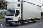 ciężarówka firanka DAF używana