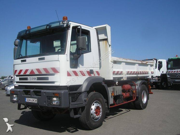 Camion iveco bi benne forez bennes cursor 310 4x2 euro 3 for Porte universelle benne
