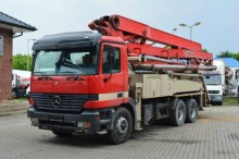camión Mercedes 2631 6x4 / 36m Pumpe Elba