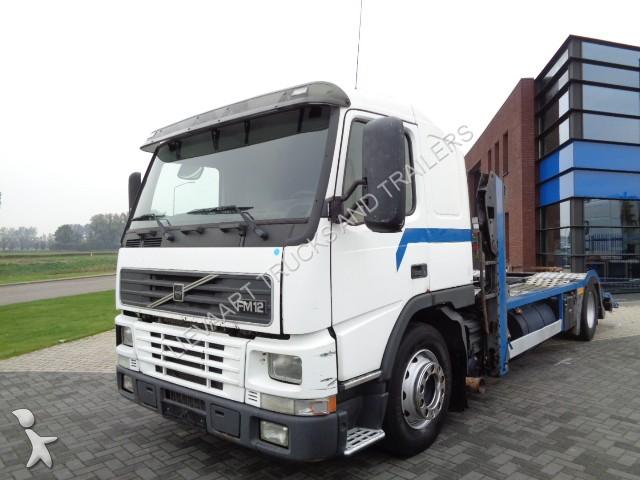 camion porte voitures occasion volvo truck lkw transporter manual stee gazoil. Black Bedroom Furniture Sets. Home Design Ideas