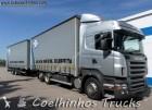 camião caixa de cortinas Scania usado