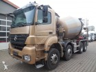 camion Mercedes 3240 B Axor-C-8x4-Euro 5-Stetter 8 m³ inkl. Hafenlieferung
