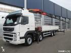 camión Volvo FM 410 8x4 Euro 5 with Palfinger 33 ton/meter cr