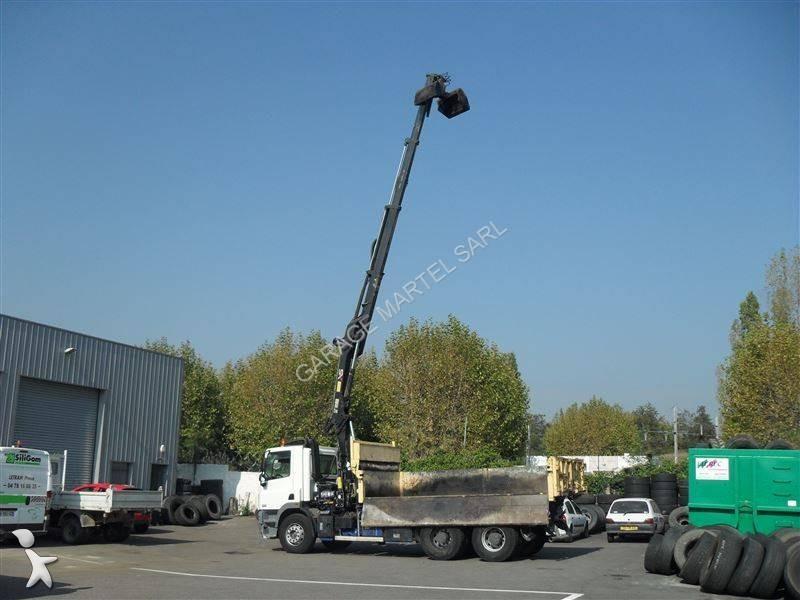 Camion daf bi benne cf85 fad 460 6x4 gazoil euro 4 grue for Garage martel grigny