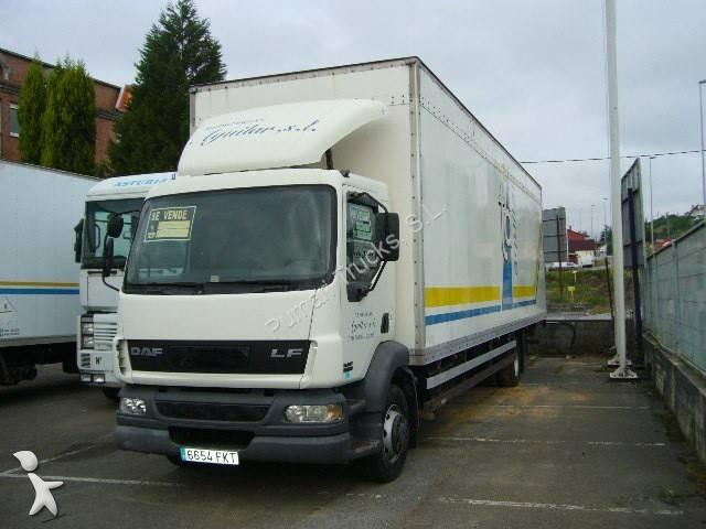 Cami n daf furg n lf55 fa 250 4x2 diesel euro 3 usado n for Camiones usados en asturias