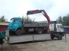 ciężarówka platforma Mercedes używana