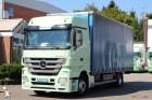 gebrauchter Mercedes LKW Pritsche und Plane Schiebeplanenaufbau