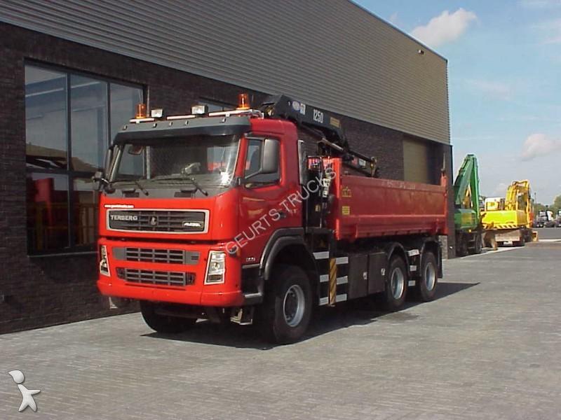 Tweedehands vrachtwagen terberg kipper fm 1350 wdg kipper for Vrachtwagen kipper met kraan