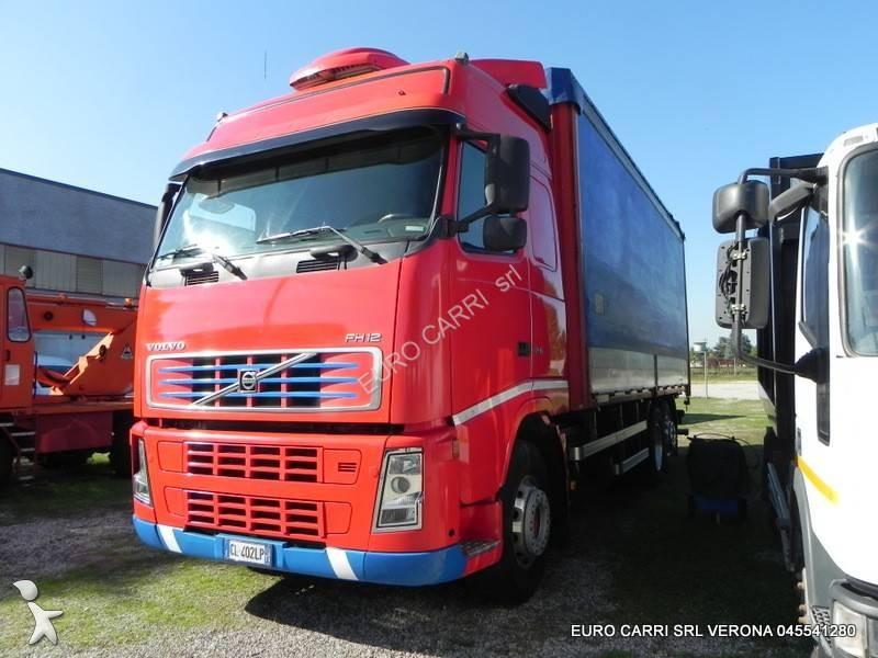 Camion volvo cassone centinato fh12 460 euro 3 usato n - Portata massima camion italia ...