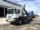 camião porta contentores Scania usado