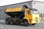 ciężarówka wywrotka trójstronny wyładunek Kamaz używana