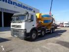 camion betoniera cu rotor/ Malaxor Volvo second-hand