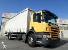 used Scania tarp truck