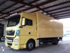 camión furgón caja polyfond MAN usado