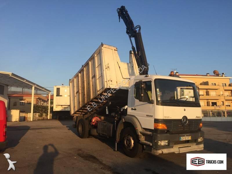 camion mercedes benne enrochement 1828 4x2 gazoil euro 2. Black Bedroom Furniture Sets. Home Design Ideas