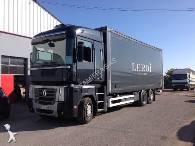 camion renault rideaux coulissants plsc autres plsc magnum 4x2 gazoil euro 5 hayon. Black Bedroom Furniture Sets. Home Design Ideas