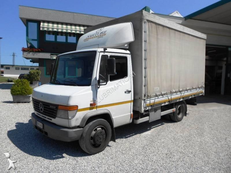 Camion mercedes cassone centinato vario 815 d 4x2 euro 2 - Portata massima camion italia ...