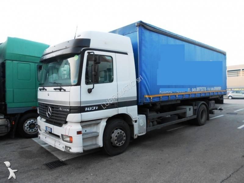Camion mercedes cassone centinato actros 1831 4x2 euro 3 - Portata massima camion italia ...