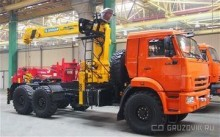 camion Kamaz 43118